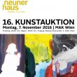 "16. Kunstauktion Neunerhaus"", Charity Projekt"