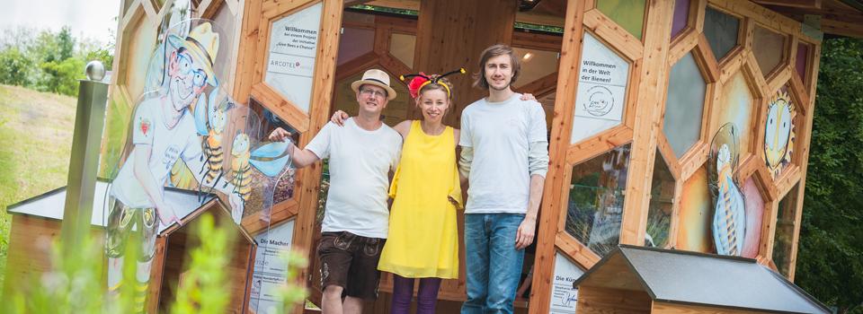 Bienenpavillon in Kleinpöchlarn eröffnet!
